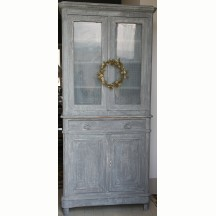 French antiques grey buffet